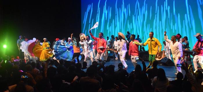 El lanzamiento de la versión XXI del Festival de Música del Pacífico, llenó las graderías del Teatro Mayor Julio Mario Santo Domimgo.