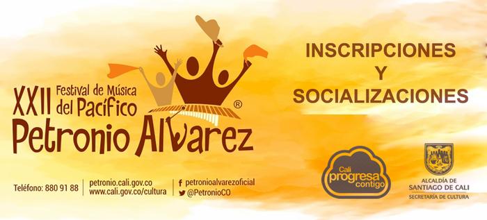 Conozca las fechas de socialización del nuevo reglamento del Festival Petronio Álvarez