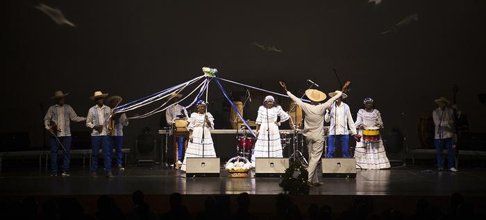 Lanzamiento del Petronio Álvarez llenó hasta el techo el Teatro Mayor Julio Mario Santo Domingo