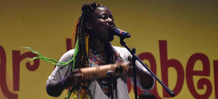 Timbiáfrica dio vía libre a su talento