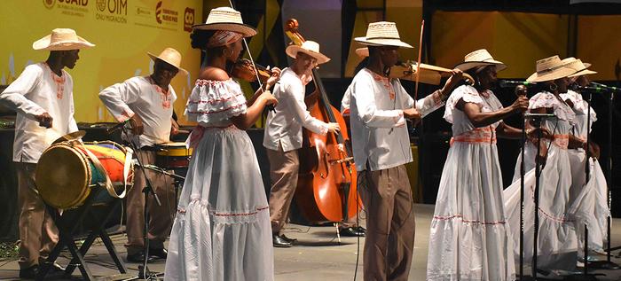 Fueron 14 años de espera para que 'Aires de Dominguillo' se llevará el primer puesto en la modalidad violines caucanos