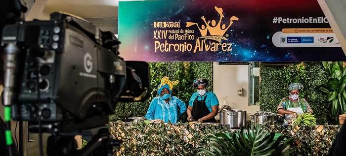 Sabores del Pacífico durante el Festival Petronio Álvarez